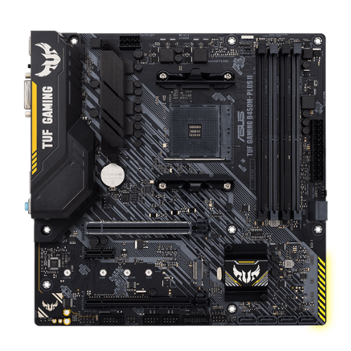 ASUS TUF GAMING B450M-PLUS II - Placa base - micro ATX